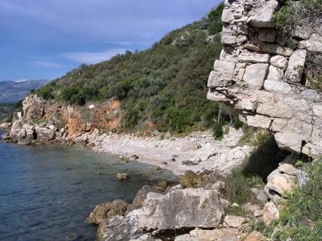 Pláž v Rijeka Rezevici
