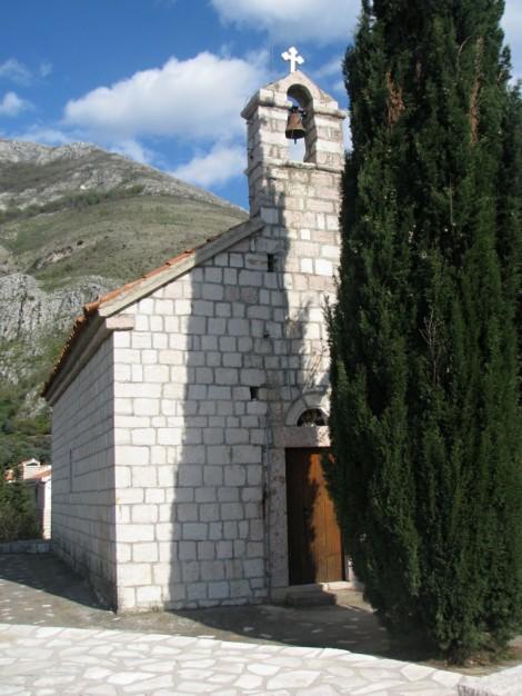 Malý kostelík v Rijeka Rezevici